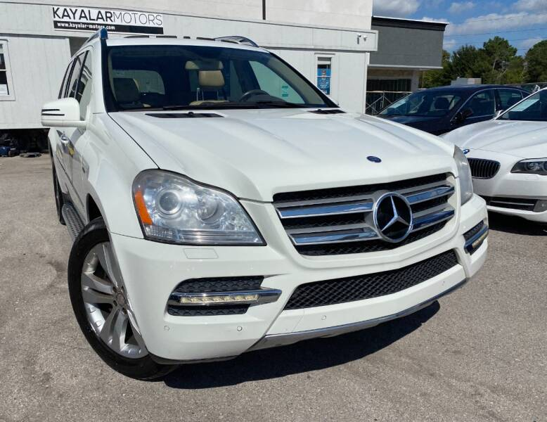 2012 Mercedes-Benz GL-Class for sale at KAYALAR MOTORS in Houston TX