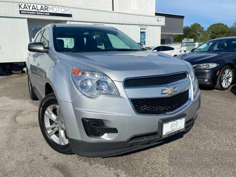 2012 Chevrolet Equinox for sale at KAYALAR MOTORS Garage in Houston TX