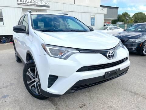 2016 Toyota RAV4 for sale at KAYALAR MOTORS Garage in Houston TX