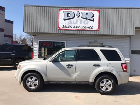 ford escape for sale in south sioux city ne. Black Bedroom Furniture Sets. Home Design Ideas