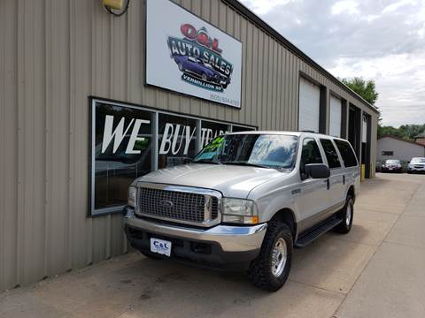 2004 Ford Excursion XLT for sale at C&L Auto Sales in Vermillion SD