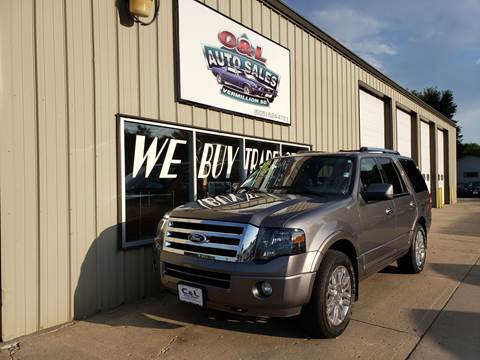 2011 Ford Expedition Limited for sale at C&L Auto Sales in Vermillion SD