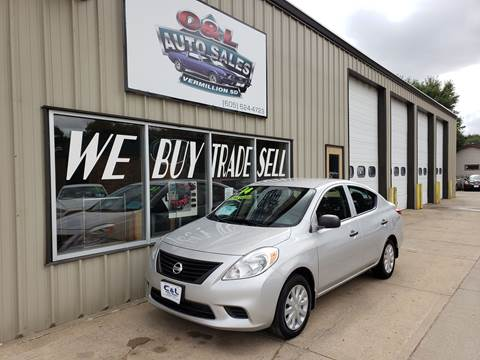 2014 Nissan Versa 1.6 S for sale at C&L Auto Sales in Vermillion SD