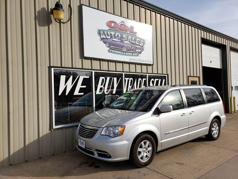 2012 Chrysler Town and Country Touring for sale at C&L Auto Sales in Vermillion SD