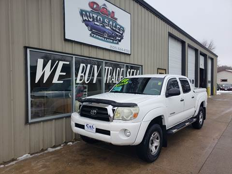 2008 Toyota Tacoma PreRunner V6 for sale at C&L Auto Sales in Vermillion SD