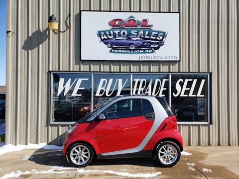2010 Smart fortwo pure for sale at C&L Auto Sales in Vermillion SD