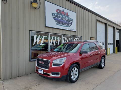 2013 GMC Acadia SLE-2 for sale at C&L Auto Sales in Vermillion SD