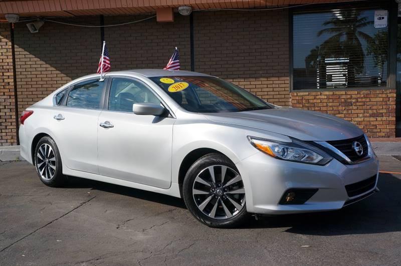 2017 Nissan Altima for sale at Fuego's Cars in Miami FL
