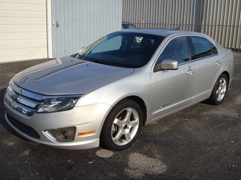 2010 Ford Fusion Hybrid for sale at Driving Xcellence in Jeffersonville IN