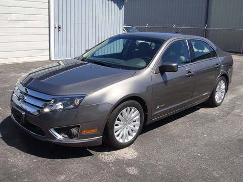 2011 Ford Fusion Hybrid for sale at Driving Xcellence in Jeffersonville IN