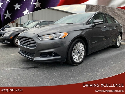 2016 Ford Fusion Hybrid for sale in Jeffersonville, IN