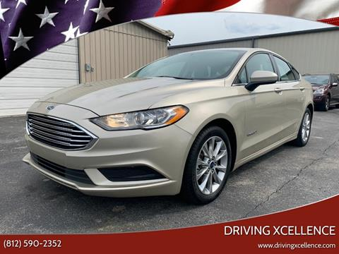 2017 Ford Fusion Hybrid for sale in Jeffersonville, IN