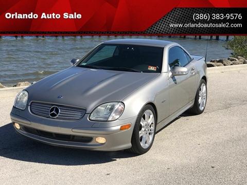 2004 Mercedes-Benz SLK for sale at Orlando Auto Sale in Port Orange FL