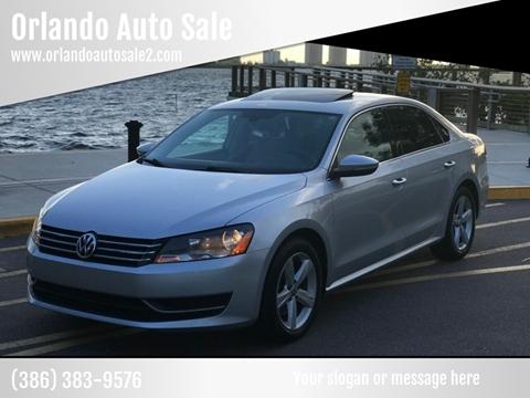 2012 Volkswagen Passat for sale at Orlando Auto Sale in Port Orange FL