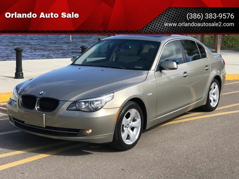 2008 BMW 5 Series for sale at Orlando Auto Sale in Port Orange FL