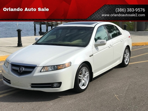 2007 Acura TL for sale at Orlando Auto Sale in Port Orange FL