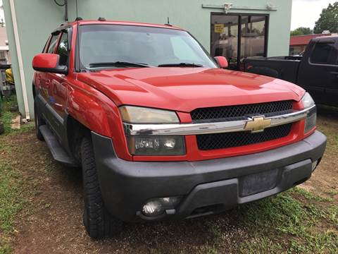 2004 Chevrolet Avalanche for sale in Cowan, TN