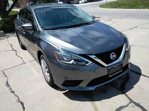 2016 Nissan Sentra for sale at Divine Auto Sales LLC in Omaha NE