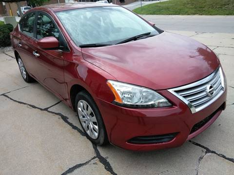 2015 Nissan Sentra for sale at Divine Auto Sales LLC in Omaha NE