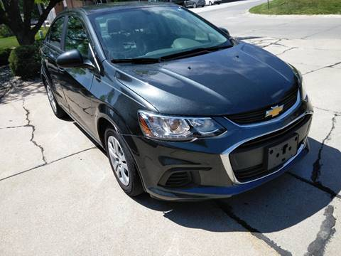 2017 Chevrolet Sonic for sale at Divine Auto Sales LLC in Omaha NE