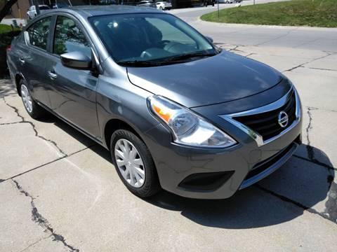 2018 Nissan Versa for sale at Divine Auto Sales LLC in Omaha NE