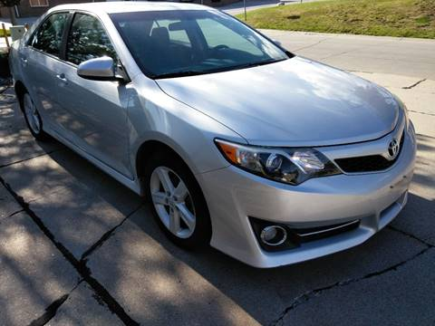 2012 Toyota Camry for sale at Divine Auto Sales LLC in Omaha NE