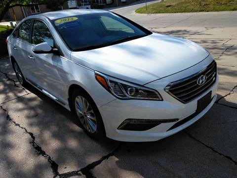 2015 Hyundai Sonata for sale at Divine Auto Sales LLC in Omaha NE