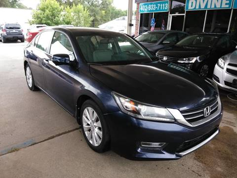 2013 Honda Accord for sale at Divine Auto Sales LLC in Omaha NE