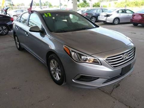 2017 Hyundai Sonata for sale at Divine Auto Sales LLC in Omaha NE