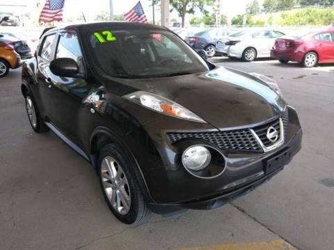 2012 Nissan JUKE for sale at Divine Auto Sales LLC in Omaha NE