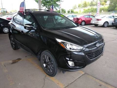 2014 Hyundai Tucson for sale at Divine Auto Sales LLC in Omaha NE
