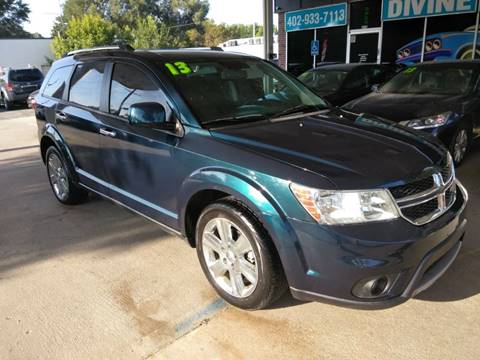 2013 Dodge Journey for sale at Divine Auto Sales LLC in Omaha NE