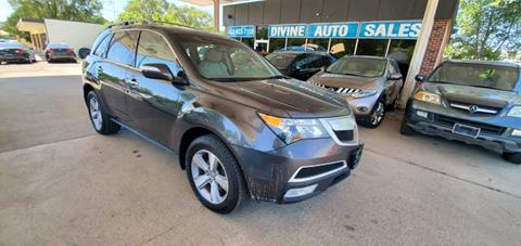 2012 Acura MDX for sale at Divine Auto Sales LLC in Omaha NE