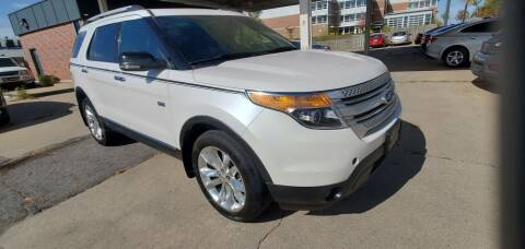 2012 Ford Explorer for sale at Divine Auto Sales LLC in Omaha NE