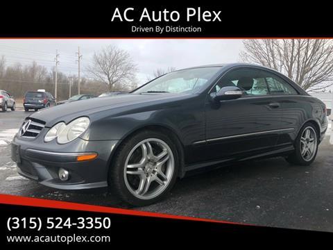 2009 Mercedes-Benz CLK for sale at AC Auto Plex in Ontario NY