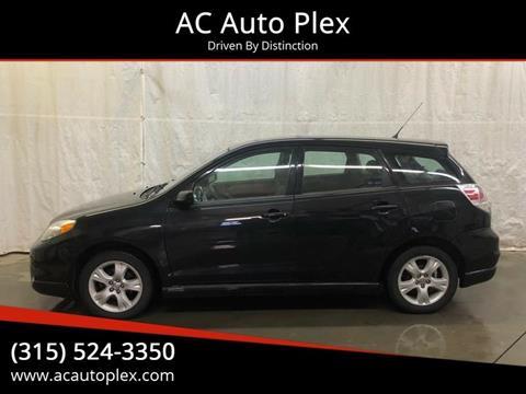 2008 Toyota Matrix for sale at AC Auto Plex in Ontario NY