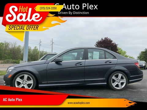 2011 Mercedes-Benz C-Class for sale at AC Auto Plex in Ontario NY