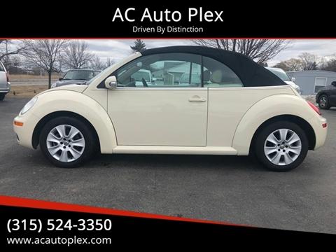 2009 Volkswagen New Beetle for sale at AC Auto Plex in Ontario NY