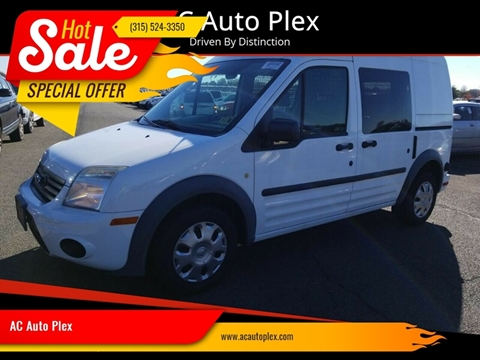 2013 Ford Transit Connect for sale at AC Auto Plex in Ontario NY