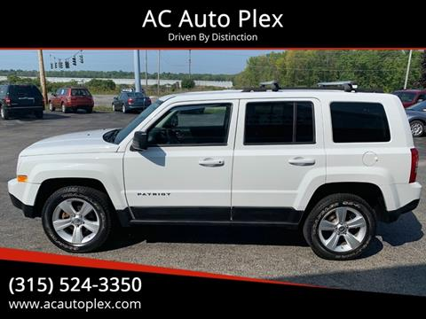 2011 Jeep Patriot for sale at AC Auto Plex in Ontario NY