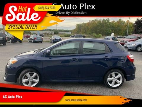 2009 Toyota Matrix for sale at AC Auto Plex in Ontario NY