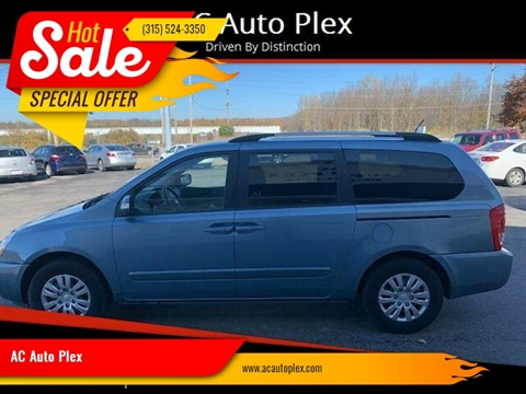 2011 Kia Sedona for sale at AC Auto Plex in Ontario NY