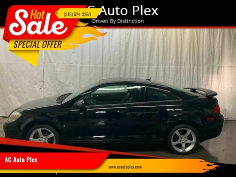 2009 Pontiac G5 for sale at AC Auto Plex in Ontario NY
