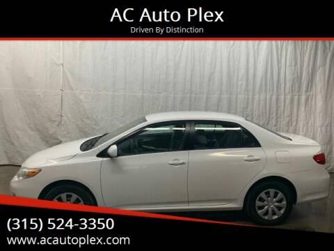 2011 Toyota Corolla for sale at AC Auto Plex in Ontario NY