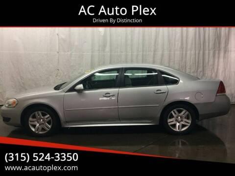 2011 Chevrolet Impala LT Fleet for sale at AC Auto Plex in Ontario NY
