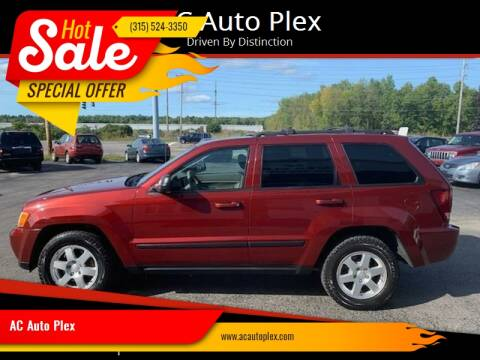 2009 Jeep Grand Cherokee for sale at AC Auto Plex in Ontario NY