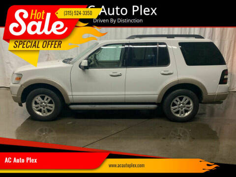 2010 Ford Explorer for sale at AC Auto Plex in Ontario NY