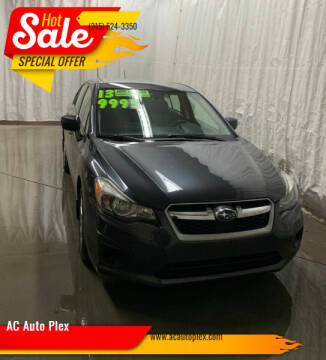 2013 Subaru Impreza for sale at AC Auto Plex in Ontario NY