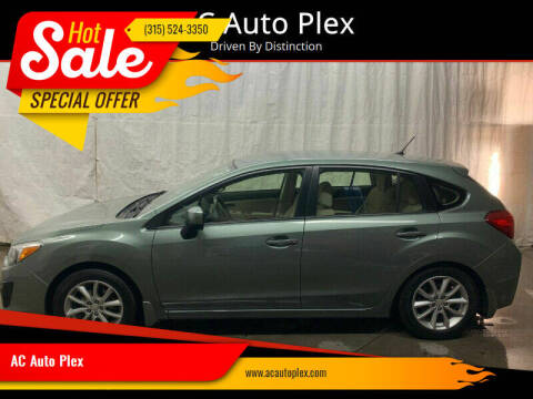 2014 Subaru Impreza for sale at AC Auto Plex in Ontario NY