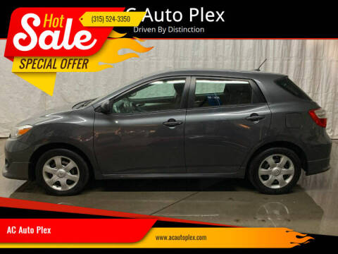 2010 Toyota Matrix for sale at AC Auto Plex in Ontario NY